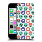 Official Chobopop Aliens Reactions Prints Soft Gel Case for Apple iPhone 5c
