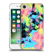 Official Caleb Troy Vivid Blacklight Neon Swirl Soft Gel Case for Apple iPhone 7