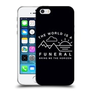 Official BRING ME THE HORIZON Key Art The World is a Funeral Soft Gel Case for Apple iPhone 5 / 5s / SE