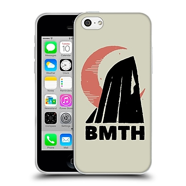 Official BRING ME THE HORIZON Key Art Moon Natural Soft Gel Case for Apple iPhone 5c