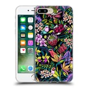 Official Celandine Tropical Pattern Stand Out Dark Soft Gel Case for Apple iPhone 7 Plus