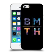 Official BRING ME THE HORIZON Key Art Stacked Letters Soft Gel Case for Apple iPhone 5 / 5s / SE