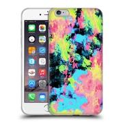 Official Caleb Troy Vivid Blacklight Neon Swirl Soft Gel Case for Apple iPhone 6 Plus / 6s Plus