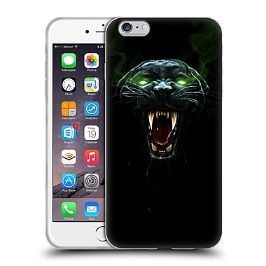 Official Christos Karapanos Horror 2 Black Panther Soft Gel Case for Apple iPhone 6 Plus / 6s Plus