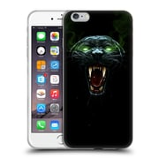 Official Christos Karapanos Horror 2 Black Panther Soft Gel Case for Apple iPhone 6 Plus / 6s Plus