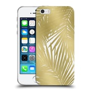 Official Caitlin Workman Organic Palms Gold Soft Gel Case for Apple iPhone 5 / 5s / SE