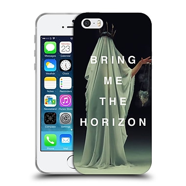 Official BRING ME THE HORIZON Key Art Cloaked White Soft Gel Case for Apple iPhone 5 / 5s / SE