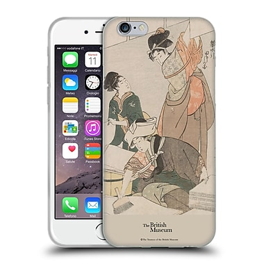 Official British Museum Images and Objects Japanese Women Soft Gel Case for Apple iPhone 6 / 6s