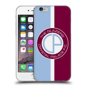 Official Crystal Palace FC 2016/17 Retro Badge Glaziers Logo Soft Gel Case for Apple iPhone 6 / 6s