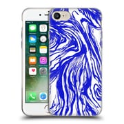 Official Caitlin Workman Patterns Marble Royal Soft Gel Case for Apple iPhone 7