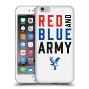 Official Crystal Palace FC The Eagles Red & Blue Army Soft Gel Case for Apple iPhone 6 Plus / 6s Plus