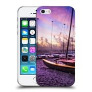 Official Celebrate Life Gallery Beaches 2 Cats At Dawn Soft Gel Case for Apple iPhone 5 / 5s / SE