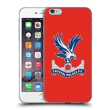Official Crystal Palace FC The Eagles Red Soft Gel Case for Apple iPhone 6 Plus / 6s Plus