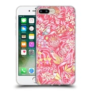 Official Celandine Tropical Pattern Stand Out Pink Pastel Soft Gel Case for Apple iPhone 7 Plus