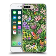 Official Celandine Tropical Pattern Stand Out Lime Soft Gel Case for Apple iPhone 7 Plus