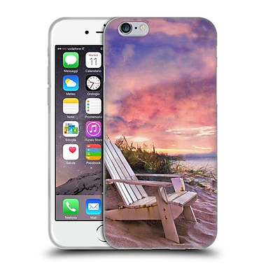 Official Celebrate Life Gallery Beaches 2 Coffee Time Soft Gel Case for Apple iPhone 6 / 6s