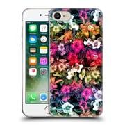 Official Burcu Korkmazyurek Floral Multicolour Floral Soft Gel Case for Apple iPhone 7