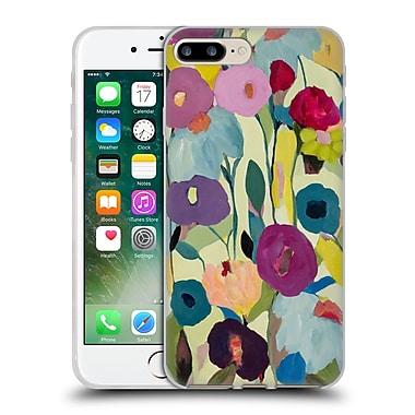 Official Carrie Schmitt Florals Rising Toward The Sun Soft Gel Case for Apple iPhone 7 Plus