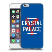 Official Crystal Palace FC The Eagles Royal Blue Palace Soft Gel Case for Apple iPhone 6 Plus / 6s Plus