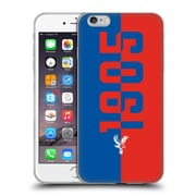 Official Crystal Palace FC The Eagles 1905 Soft Gel Case for Apple iPhone 6 Plus / 6s Plus