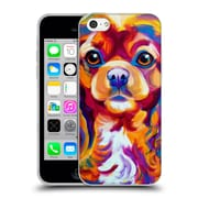 Official Dawgart Dogs King Charles Spaniel Soft Gel Case for Apple iPhone 5c