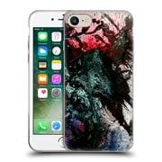Official Demian Dressler Series Memento Mori Brushes Soft Gel Case for Apple iPhone 7