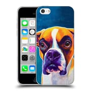 Official Dawgart Dogs Boxer Koda Soft Gel Case for Apple iPhone 5c
