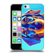 Official Dawgart Dogs Dachsund Oscar Soft Gel Case for Apple iPhone 5c