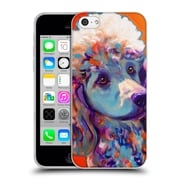 Official Dawgart Dogs Poodle Bonnie Soft Gel Case for Apple iPhone 5c