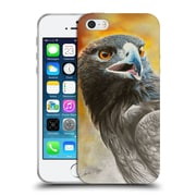Official Chuck Black Bird Art More Precious Than Gold Soft Gel Case for Apple iPhone 5 / 5s / SE