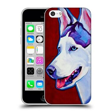 Official Dawgart Dogs Siberian Husky Soft Gel Case for Apple iPhone 5c