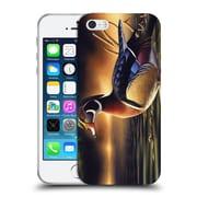 Official Chuck Black Bird Art Backwoods Marsh Soft Gel Case for Apple iPhone 5 / 5s / SE