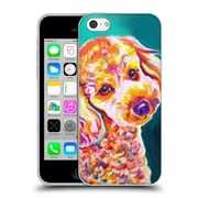 Official Dawgart Dogs 2 Poodle Curly Soft Gel Case for Apple iPhone 5c