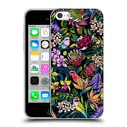 Official Celandine Tropical Pattern Stand Out Dark Soft Gel Case for Apple iPhone 5c