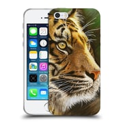 Official Chuck Black Big Cats Into The Jungle Soft Gel Case for Apple iPhone 5 / 5s / SE
