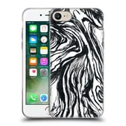 Official Caitlin Workman Patterns Marble Black Soft Gel Case for Apple iPhone 7