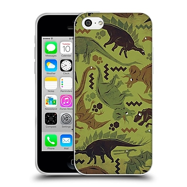 Official Chobopop Dinosaurs Camouflage Soft Gel Case for Apple iPhone 5c