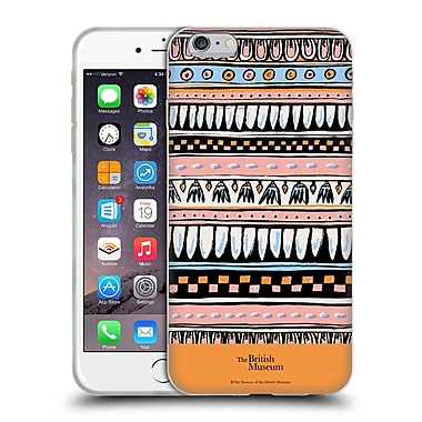 Official British Museum Ancient Egypt Pink Egyptian Pattern Soft Gel Case for Apple iPhone 6 Plus / 6s Plus