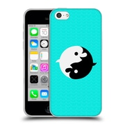 Official Chobopop Animals Yin Yang Dolphins Soft Gel Case for Apple iPhone 5c