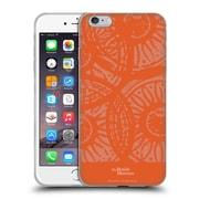 Official British Museum Community and Nurture Orange Stamps Soft Gel Case for Apple iPhone 6 Plus / 6s Plus