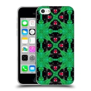 Official Chobopop Animals Tropical Goth Pattern Soft Gel Case for Apple iPhone 5c
