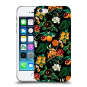 Official Burcu Korkmazyurek Tropical Fruit And Floral Soft Gel Case for Apple iPhone 5 / 5s / SE