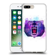 Official Chobopop Animals Lilac Geometric Bear Soft Gel Case for Apple iPhone 7 Plus