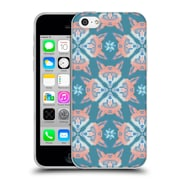Official Chobopop Animals Pastel Fox Pattern Soft Gel Case for Apple iPhone 5c