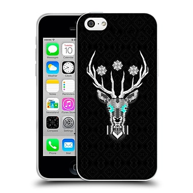 Official Chobopop Animals Silver Stag Soft Gel Case for Apple iPhone 5c