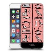 Official British Museum Ancient Egypt Pink Hieroglyphics Soft Gel Case for Apple iPhone 6 Plus / 6s Plus