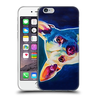 Official Dawgart Dogs Chihuahua Coco Soft Gel Case for Apple iPhone 6 / 6s