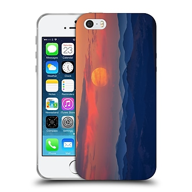 Official Darren White Sunrises and Sunsets Supermoon Soft Gel Case for Apple iPhone 5 / 5s / SE