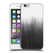 Official Caitlin Workman Patterns Charcoal Ombre Soft Gel Case for Apple iPhone 6 / 6s