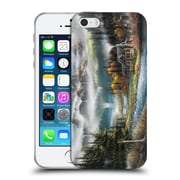 Official Chuck Black Cabin Paradise Valley Soft Gel Case for Apple iPhone 5 / 5s / SE